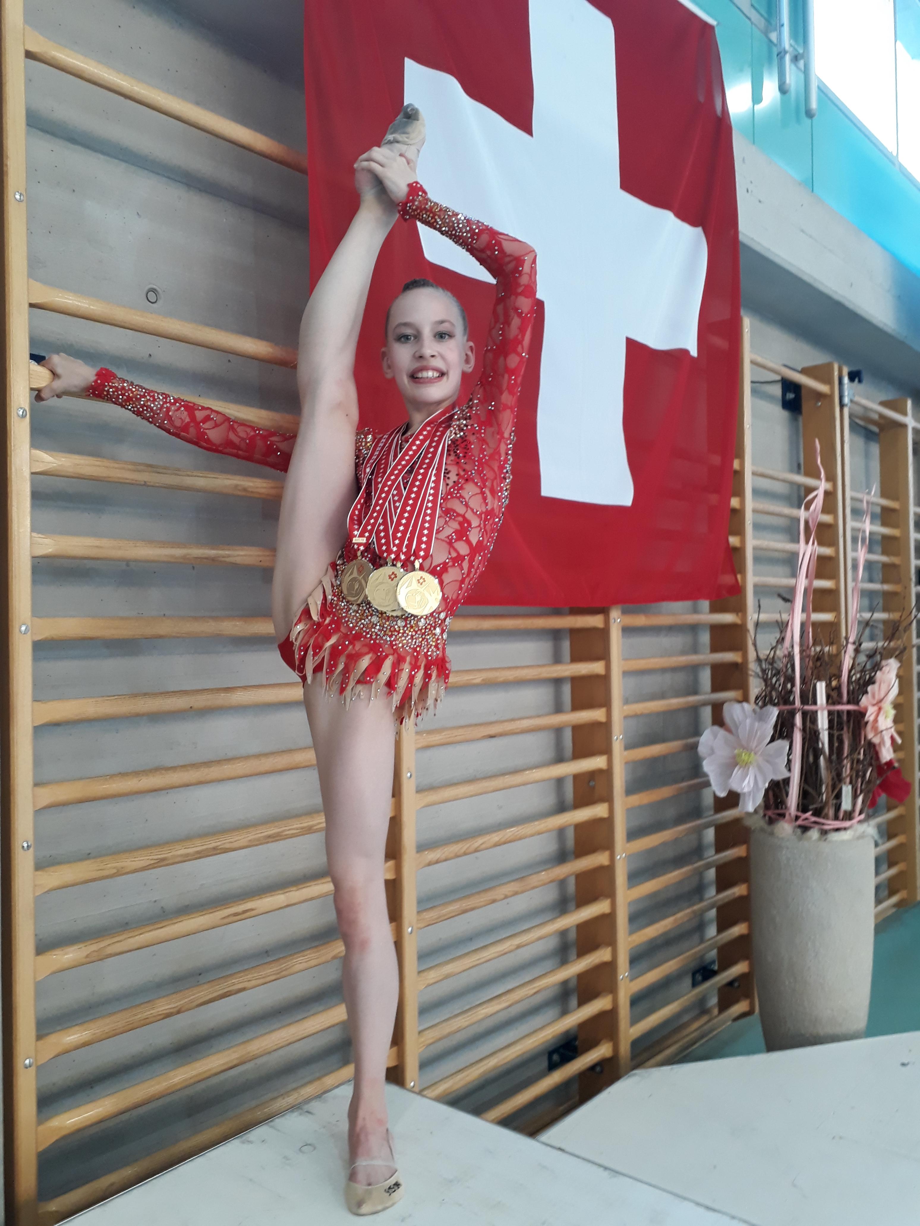 Medaillenrausch für Anastasia Weder