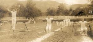 Pferdpauschen am Kantonalturnfest Altstätten 1914